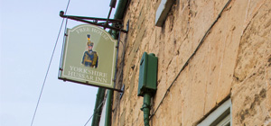 About the Yorkshire Hussar Inn, Markington